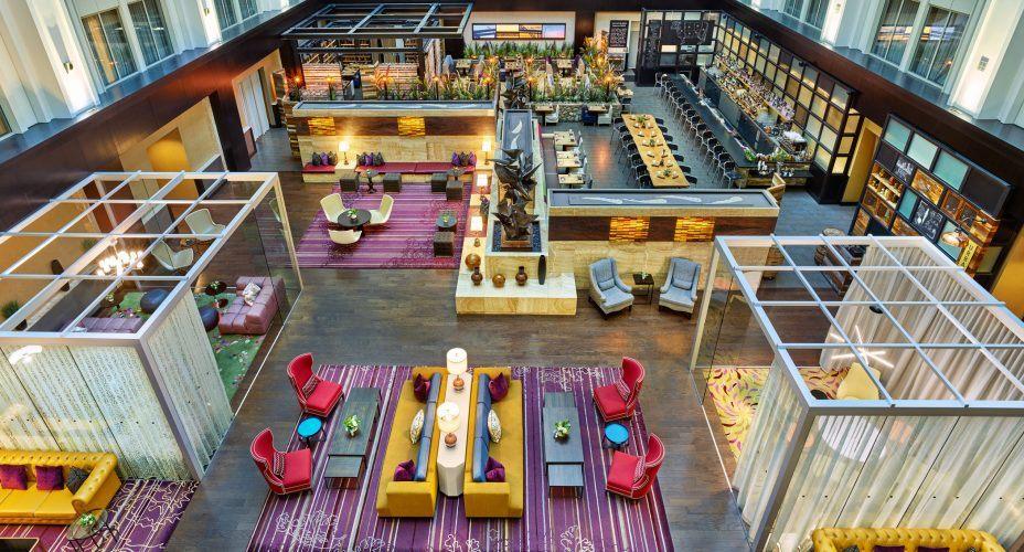 The Nines Hotel Portland Atrium